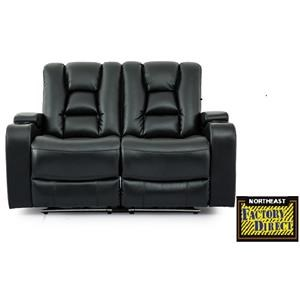 Northeast Factory Direct Theater Seating 9991 Theater Love Seat