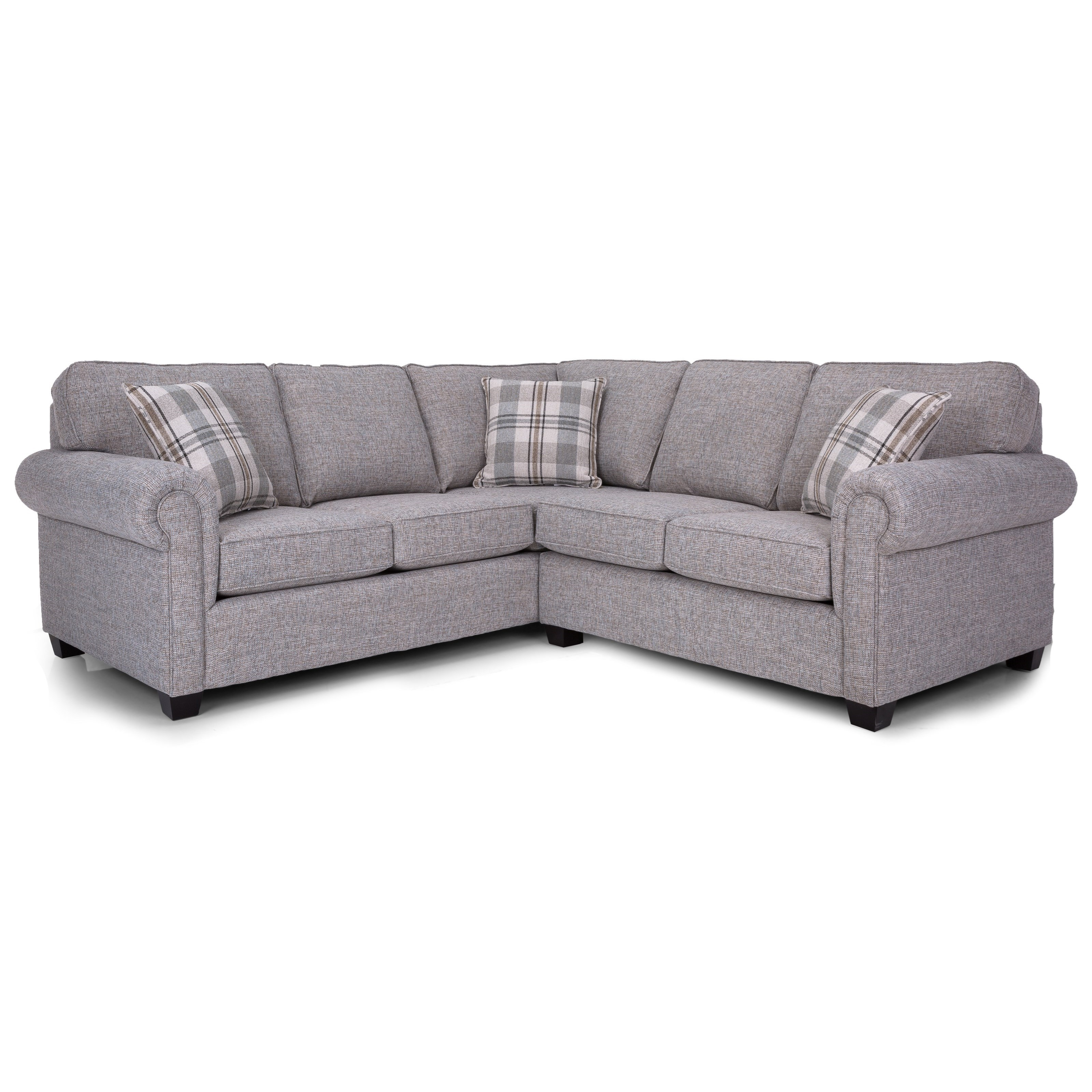 2006 Sectional Series L-Shaped Sectional by Decor-Rest at Reid's Furniture