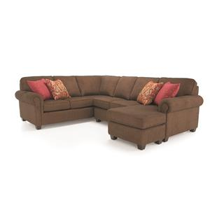 Decor-Rest 2006 Sectional Sectional Sofa Group