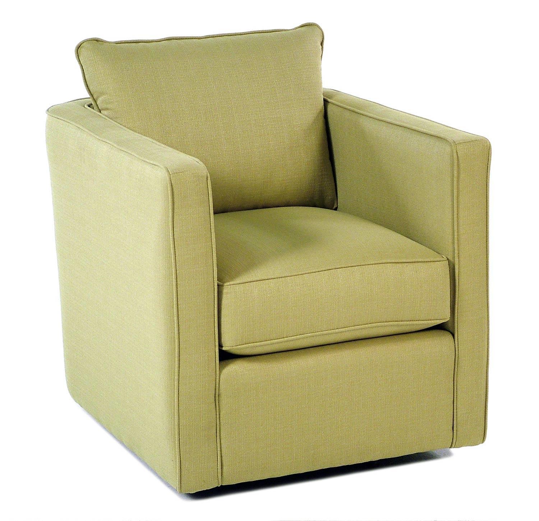 Gatsby Swivel Chair W Loose Back Cushion Rotmans