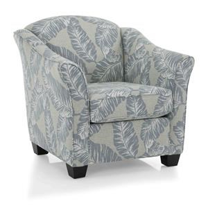 Chelset Pewter Occasional Chair