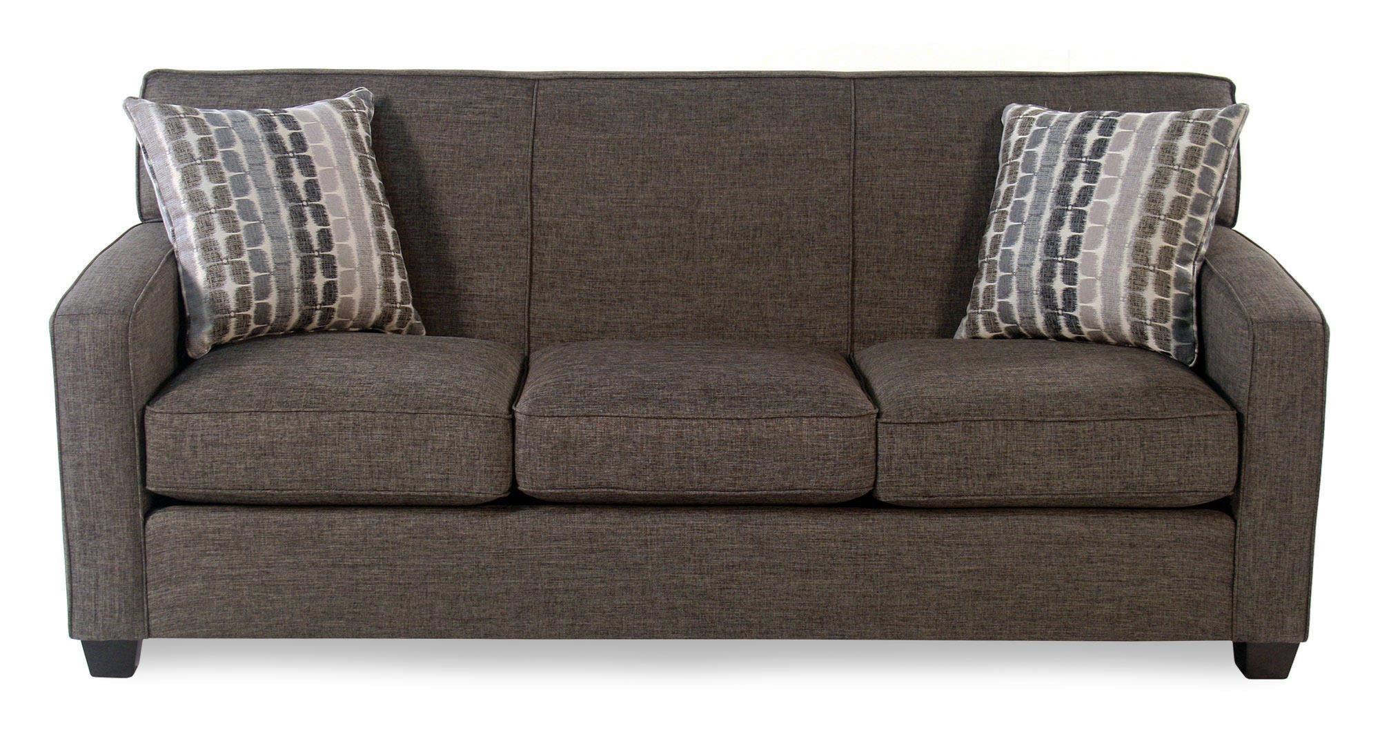 Decor-Rest Pebblestone Sofa - Item Number: 2299-01-FALCONE-GRAPHITE