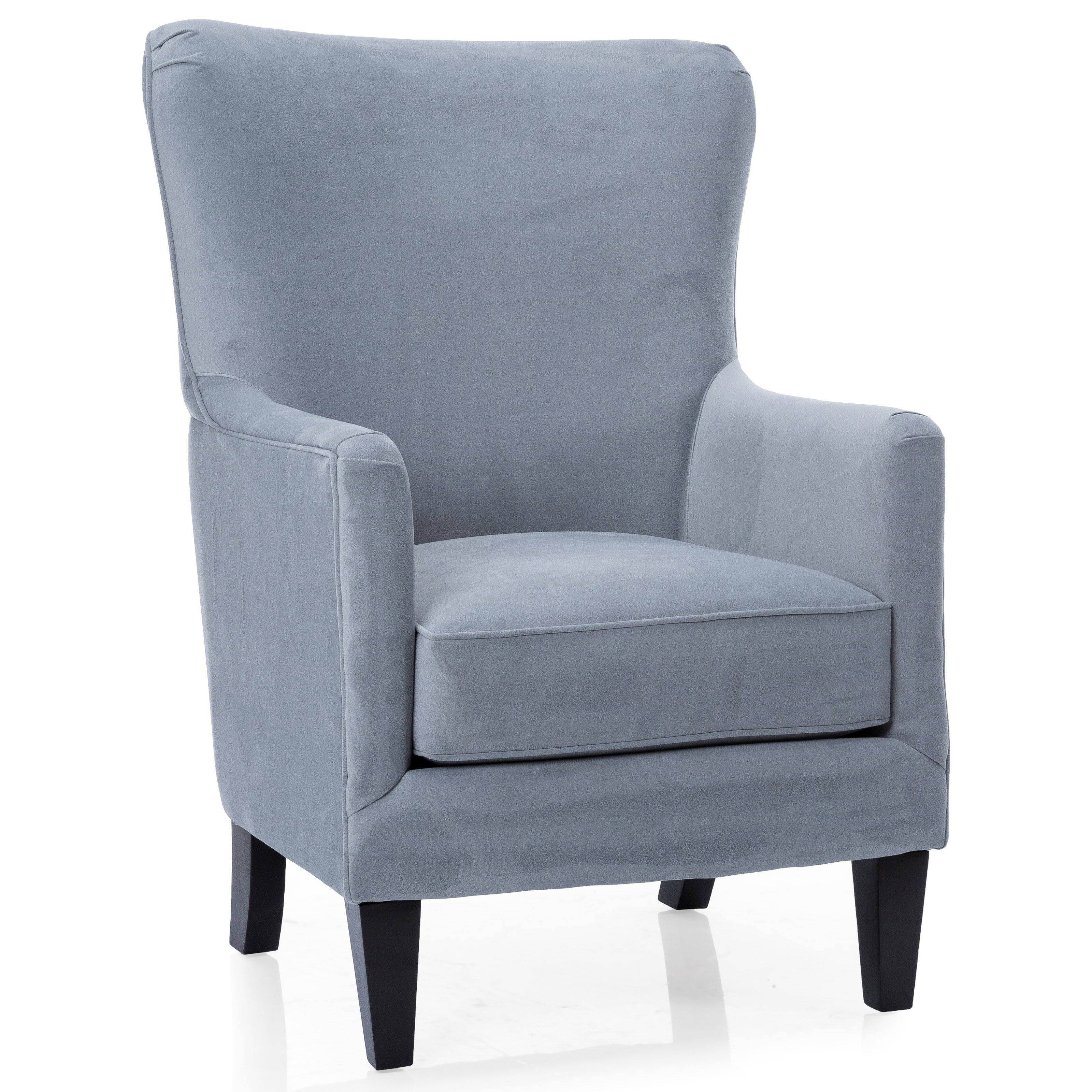 2379 Contemporary Wing Back Chair by Decor-Rest at Johnny Janosik