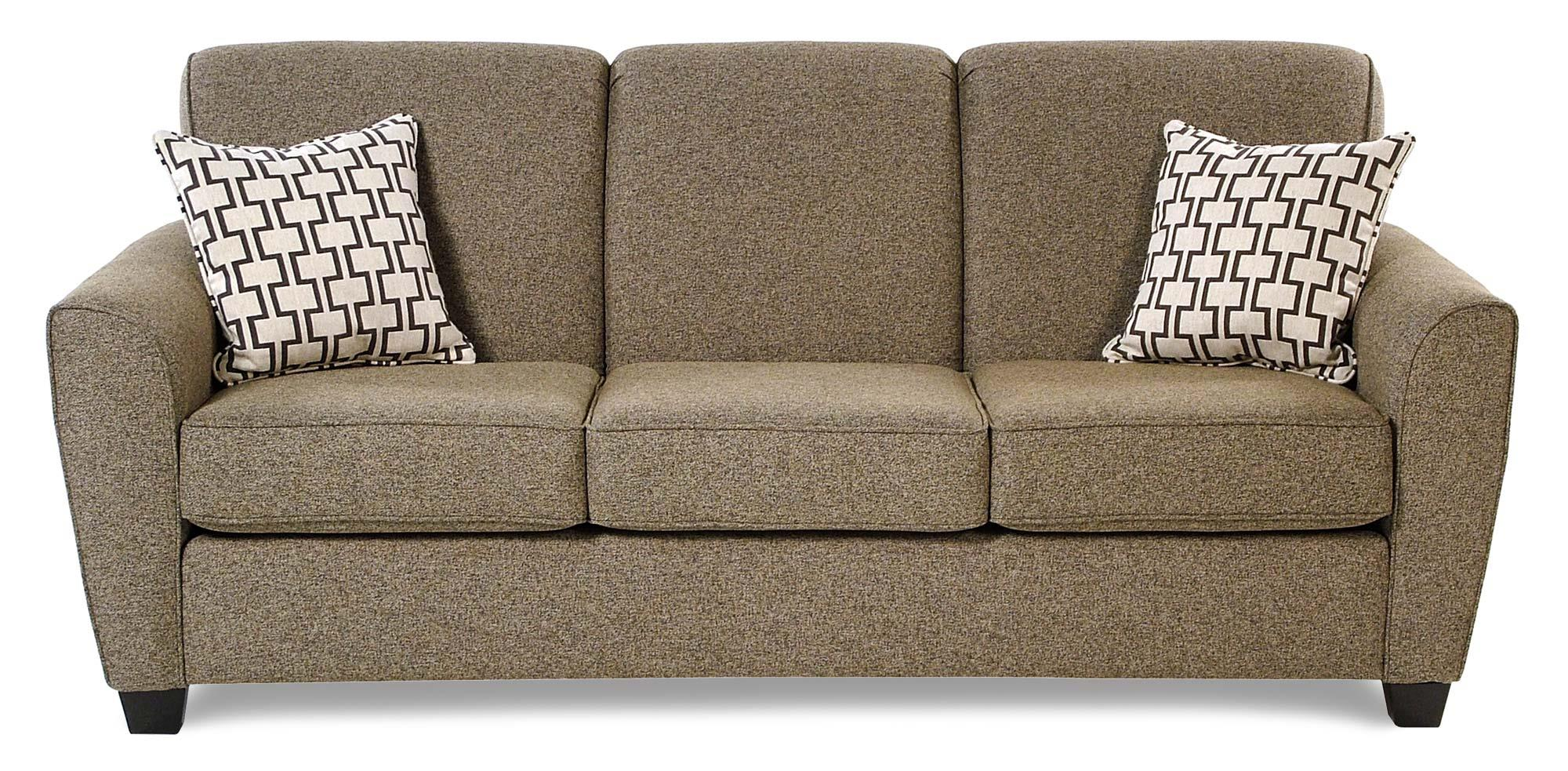 Decor-Rest Balance Transitional Sofa w/ Flared Arms - Item Number: 2404-SF-ESP