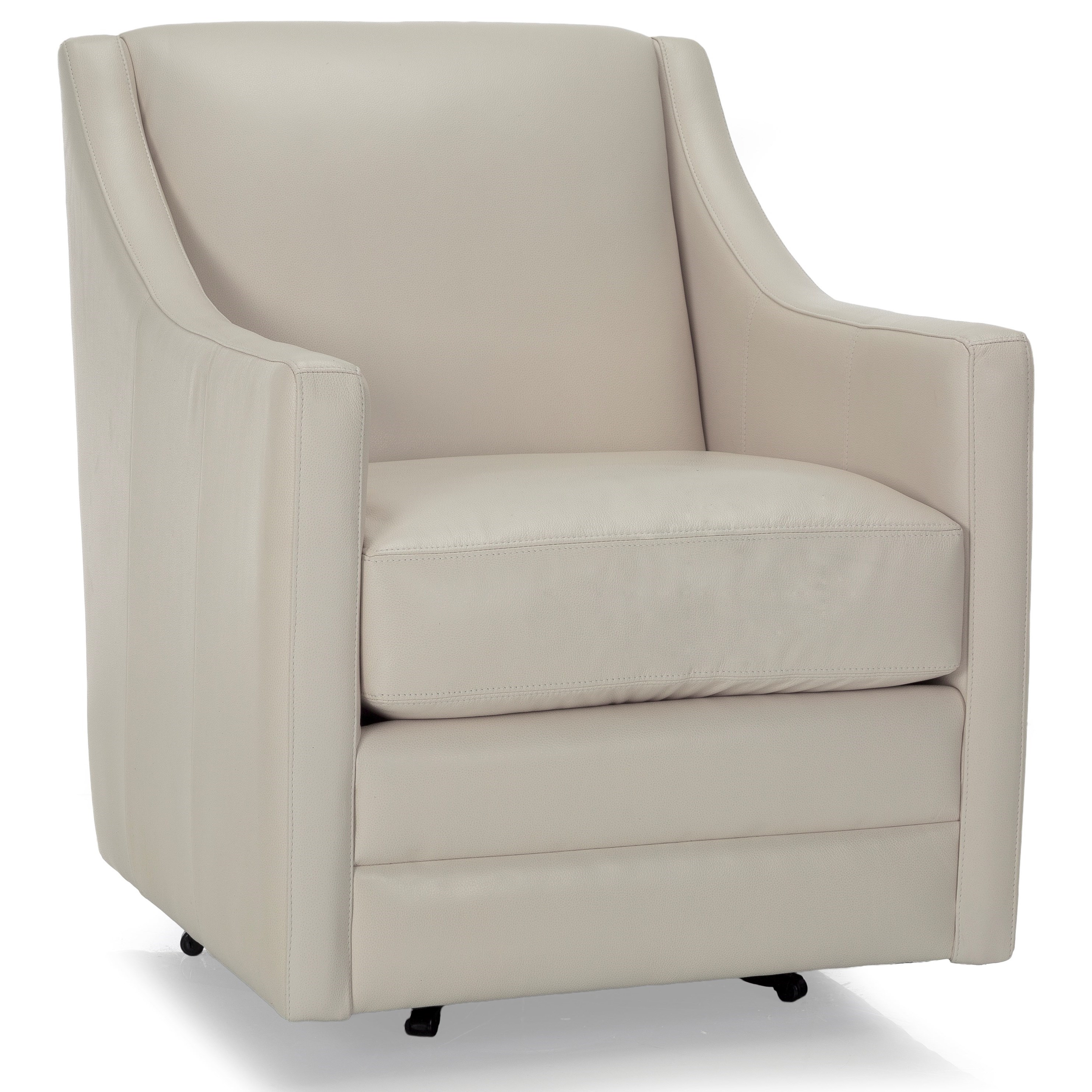 2443 Swivel Chair by Decor-Rest at Johnny Janosik