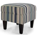 Taelor Designs 2467 Ottoman - Item Number: 2467 OTTOMAN