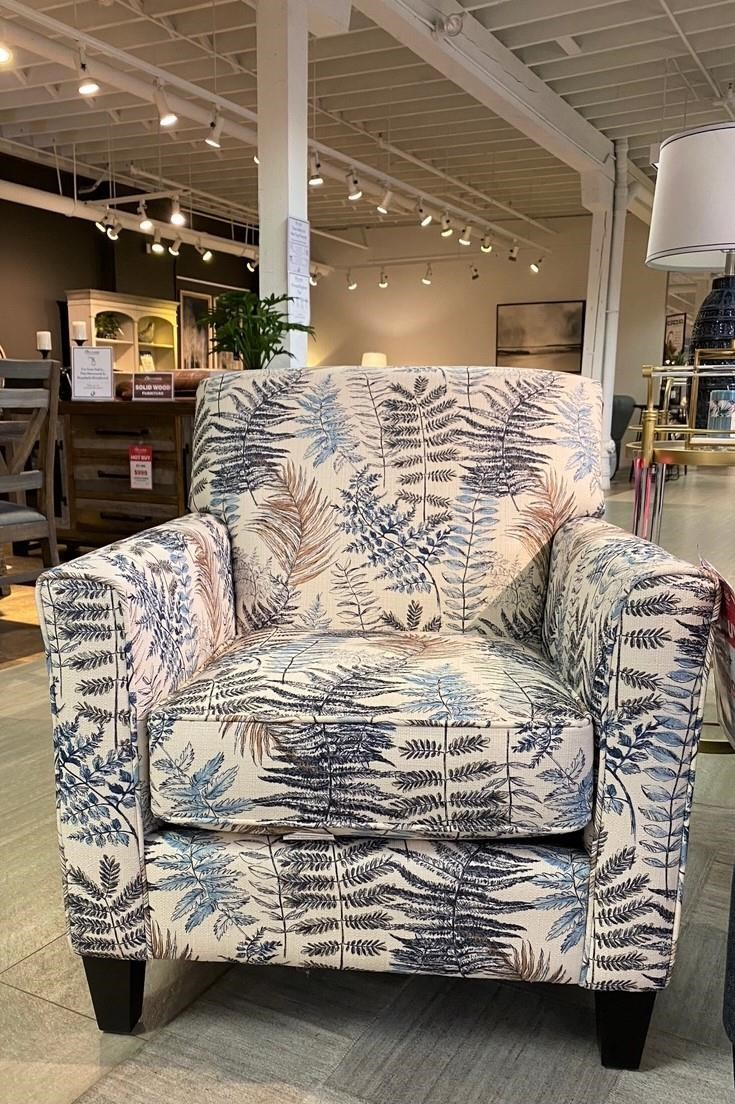 Janet Accent Chair by Taelor Designs at Bennett's Furniture and Mattresses