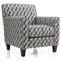 Decor-Rest 2468 Transitional Accent Chair - Item Number: 2468 CHAIR-Pattern