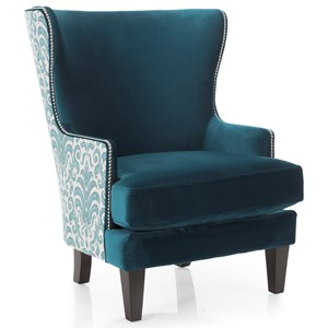 Decor-Rest 2492 Wing Back Chair