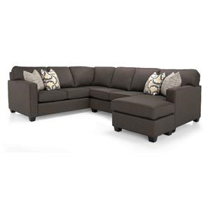 Taelor Designs 2541 Sectional Sectional