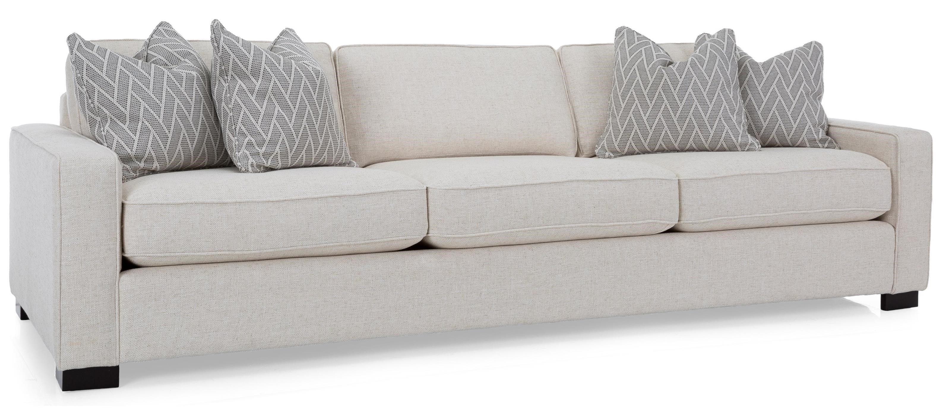 "2591 102"" Sofa by Decor-Rest at Upper Room Home Furnishings"