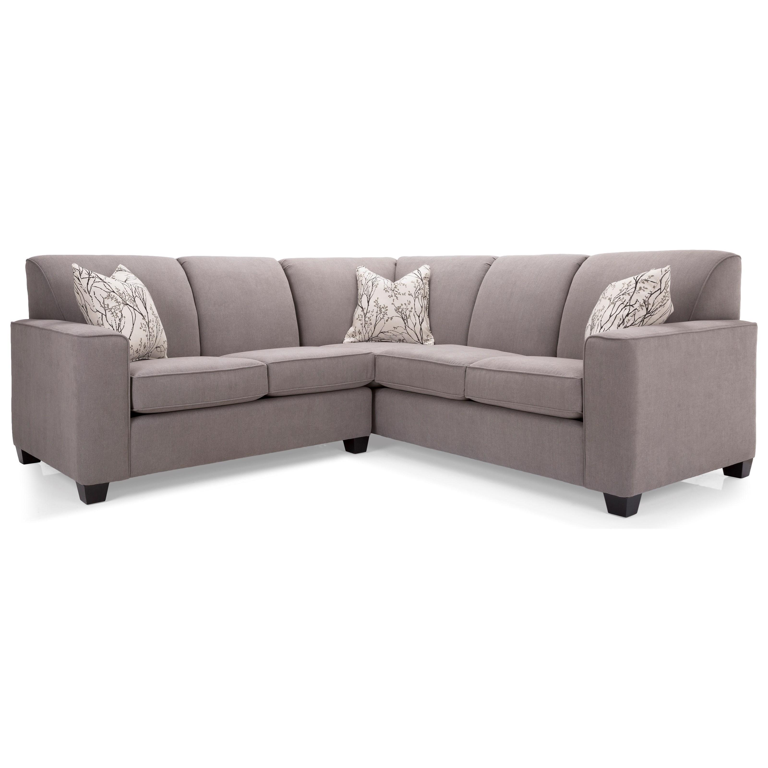 Decor Rest 2705 L Shaped Sectional Sofa
