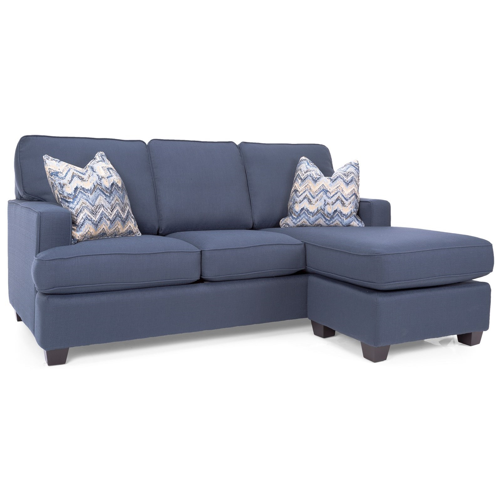 2785 Sofa with Chaise by Decor-Rest at Stoney Creek Furniture