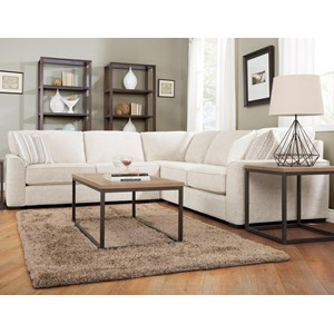 Decor-Rest 2786 3 Pc Sectional Sofa