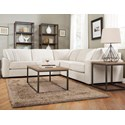 Decor-Rest 2786 3-Piece Sectional Sofa - Item Number: 2786-06 LOVE+05 CORNER+07 LOVE-FANT