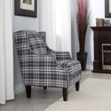 Decor-Rest 2920 Chair - Item Number: 2920 CHAIR-2920 Plaid