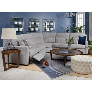 L-Shaped Reclining Sectional