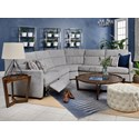 Taelor Designs 2949 L-Shaped Reclining Sectional - Item Number: M2949P-07+2949-04+M2949P-06