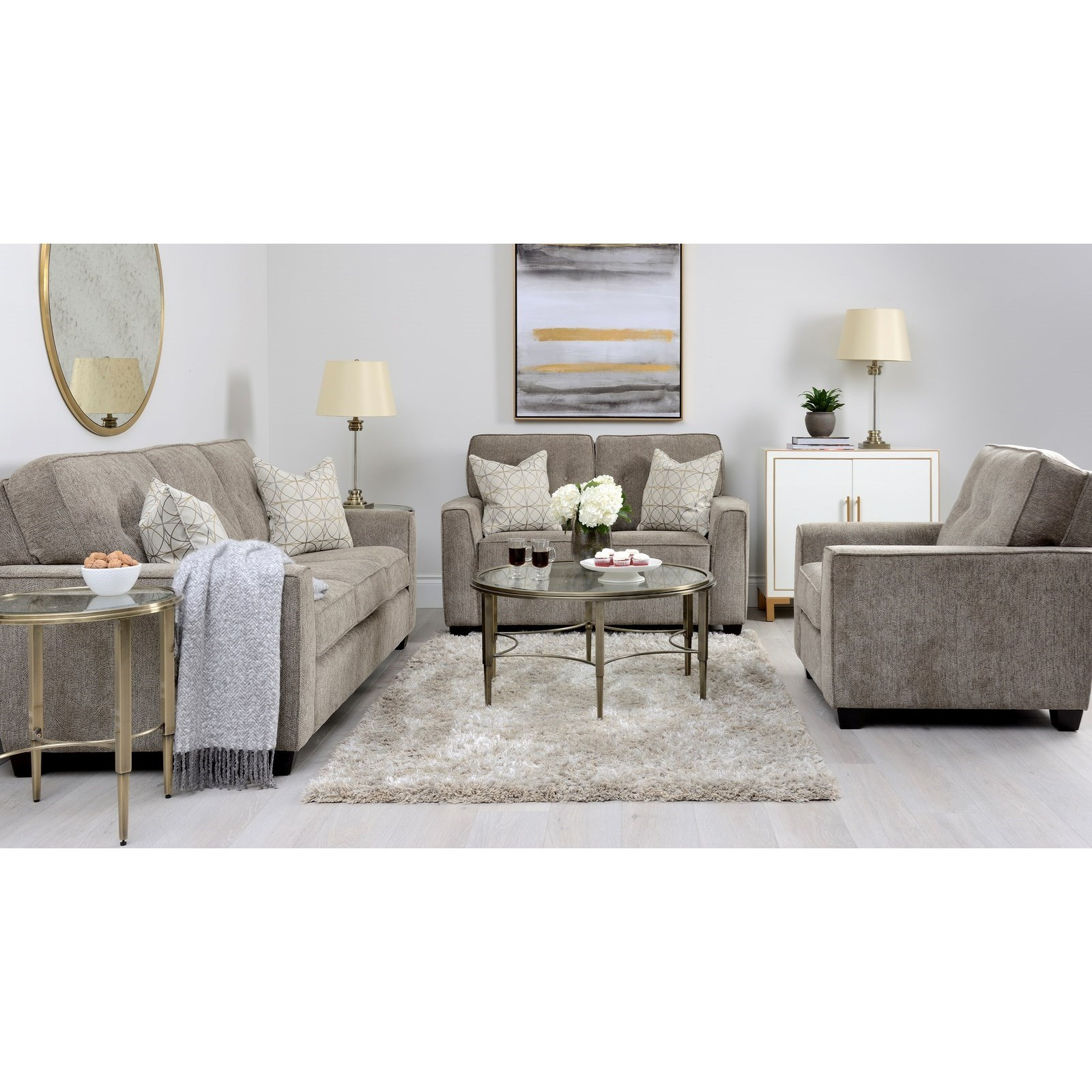 2967 Living Room Group by Decor-Rest at Rooms for Less