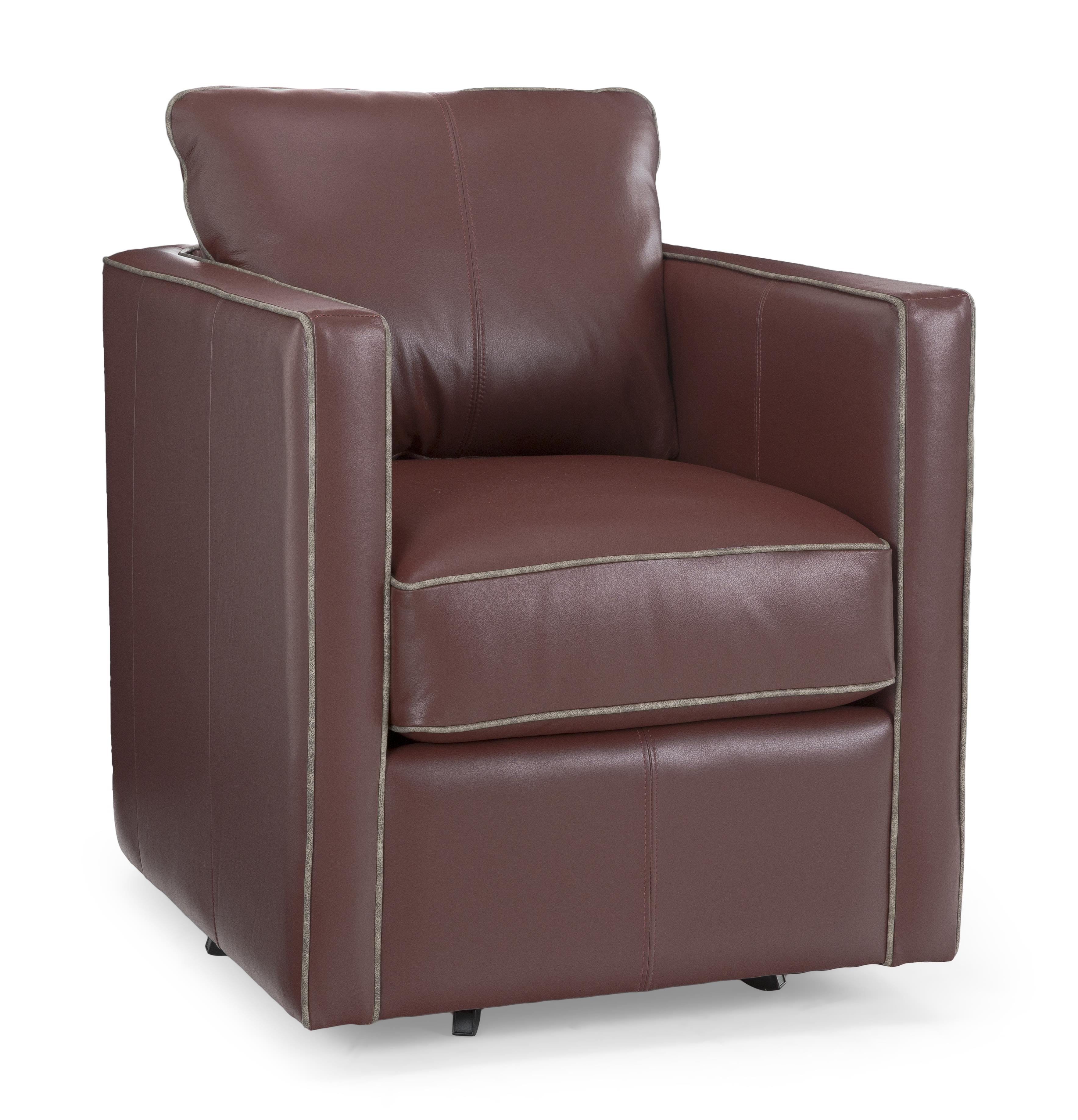 Decor-Rest 3050 Swivel Chair - Item Number: 3050-CampaniaBurgundy