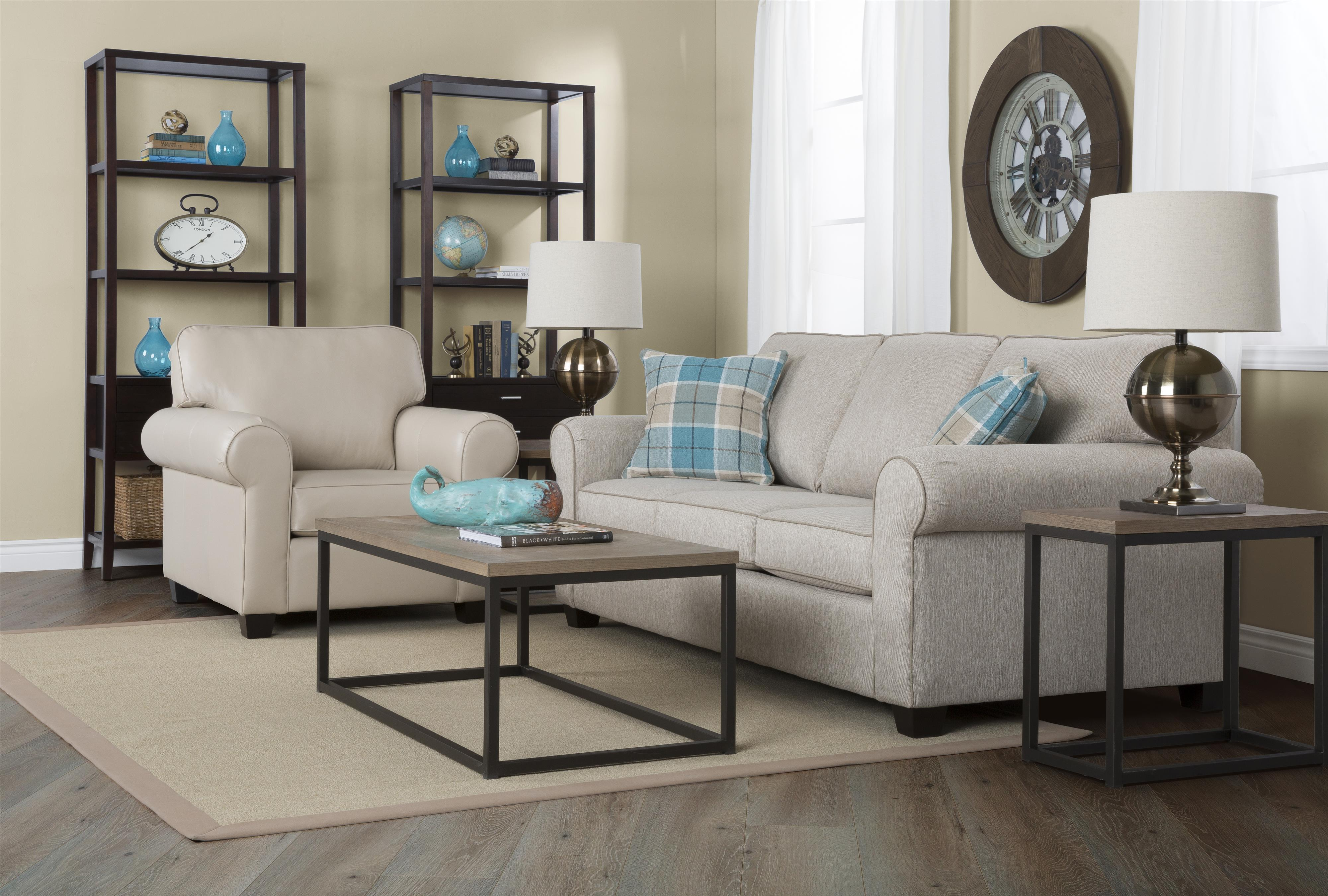 Porter Stationary Living Room Group by Taelor Designs at Bennett's Furniture and Mattresses
