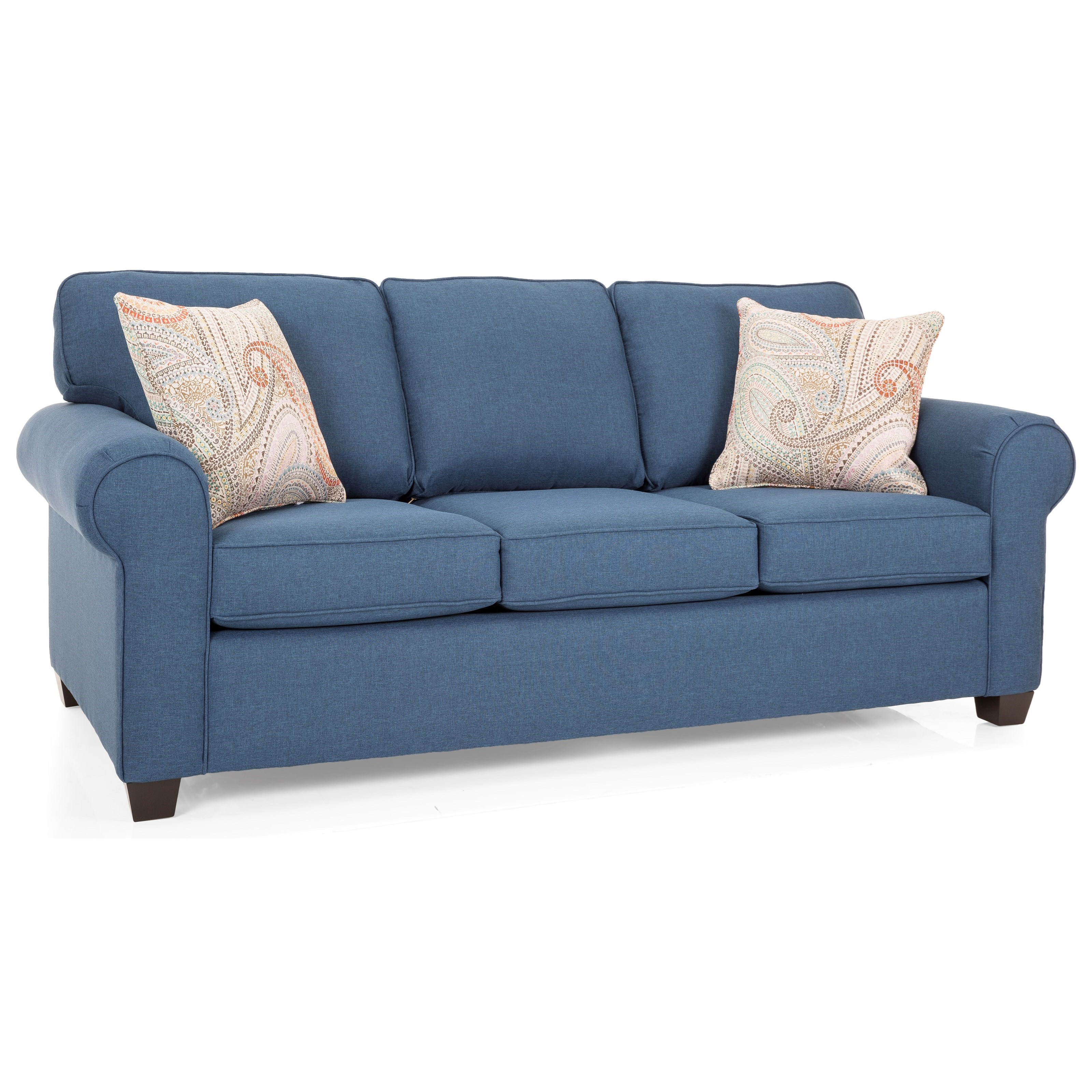 2179 Queen Bed Sofa by Decor-Rest at Reid's Furniture