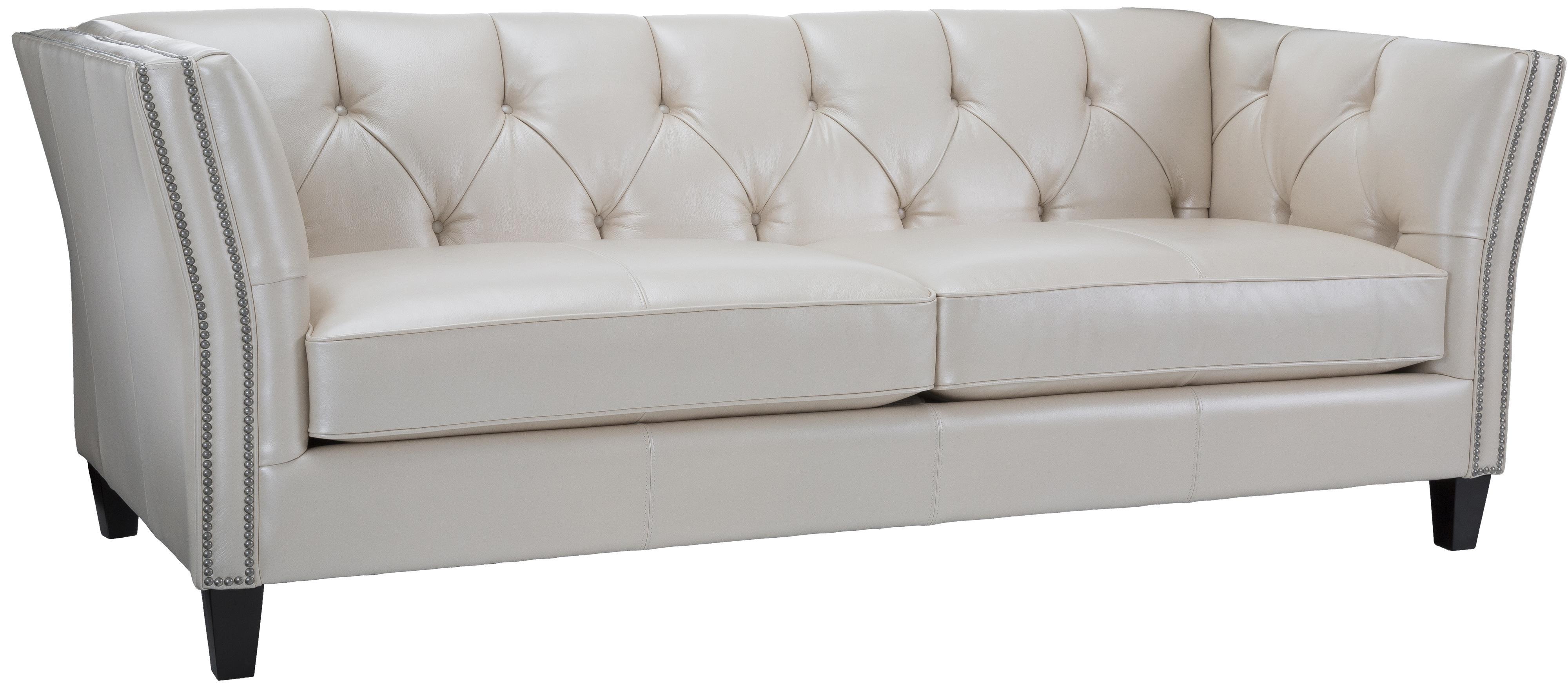 Decor-Rest 3555 Transitional Sofa - Item Number: 3555-Sofa-Dream Ice II WHT