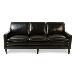 Decor-Rest Lorenzo Leather Sofa w/ Tapered Legs