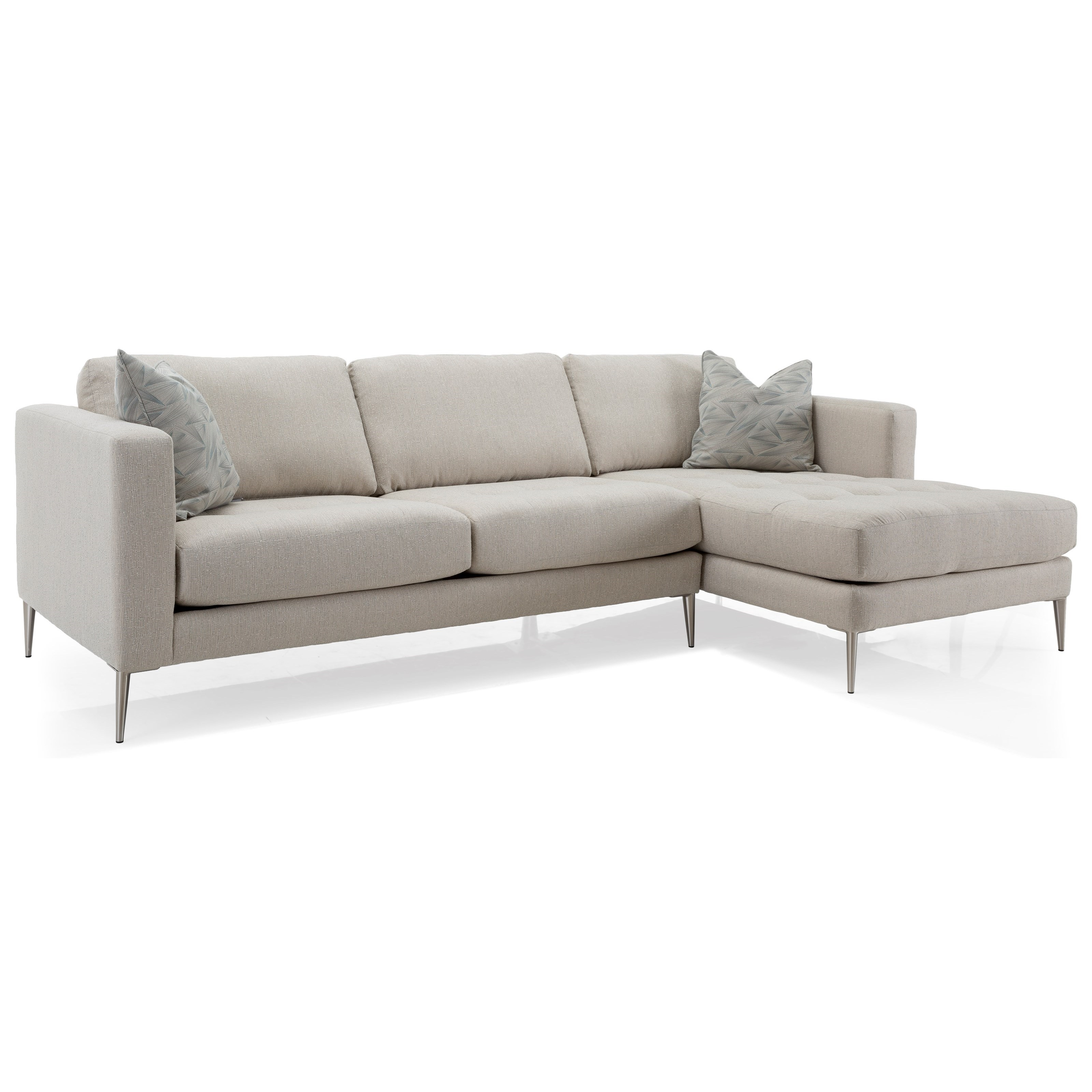 3795 Chaise Sofa by Decor-Rest at Reid's Furniture