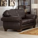 Taelor Designs 3933 Loveseat - Item Number: 3933 Sofa-Windsor Chestnut