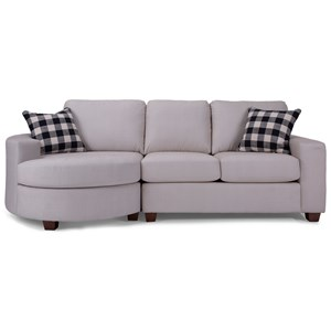 Sofa with Bumper