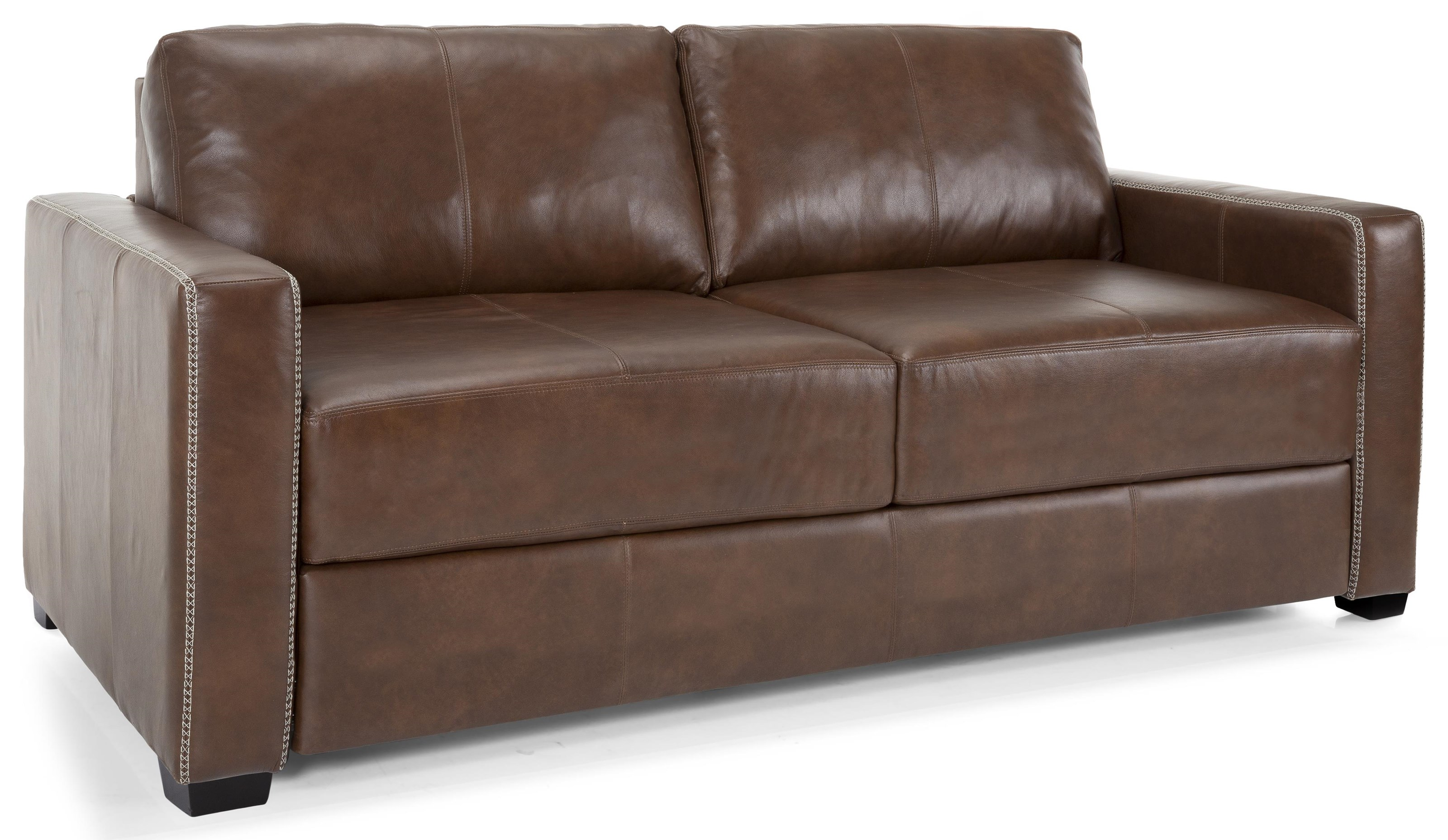 Calico Leather Queen Sofabed by Taelor Designs at Bennett's Furniture and Mattresses