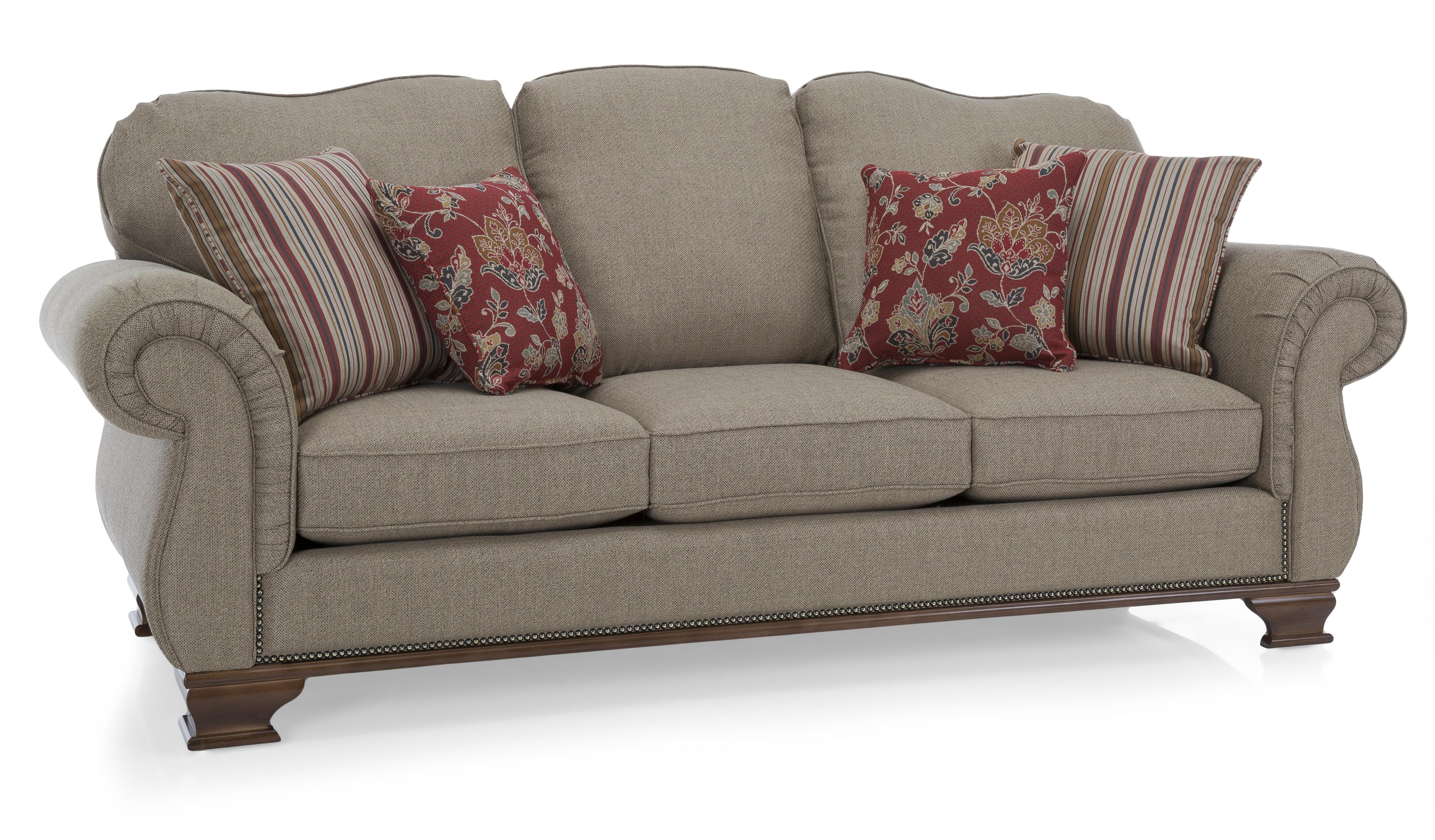 6933 Sofa by Decor-Rest at Reid's Furniture