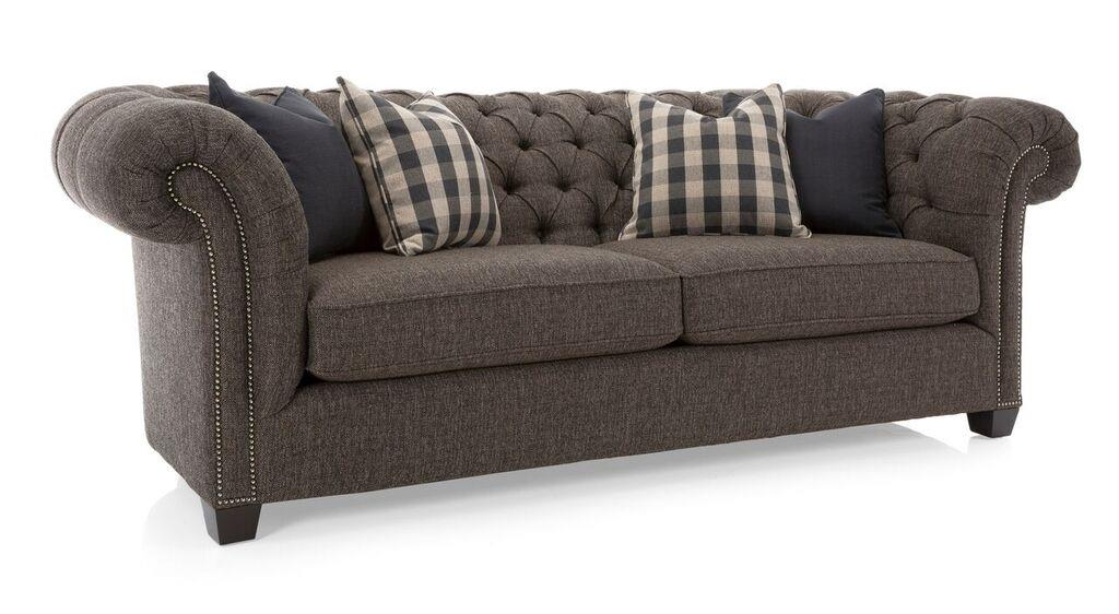 Decor-Rest Churchill Churchill Sofa - Item Number: 7000S-SharperEspresso