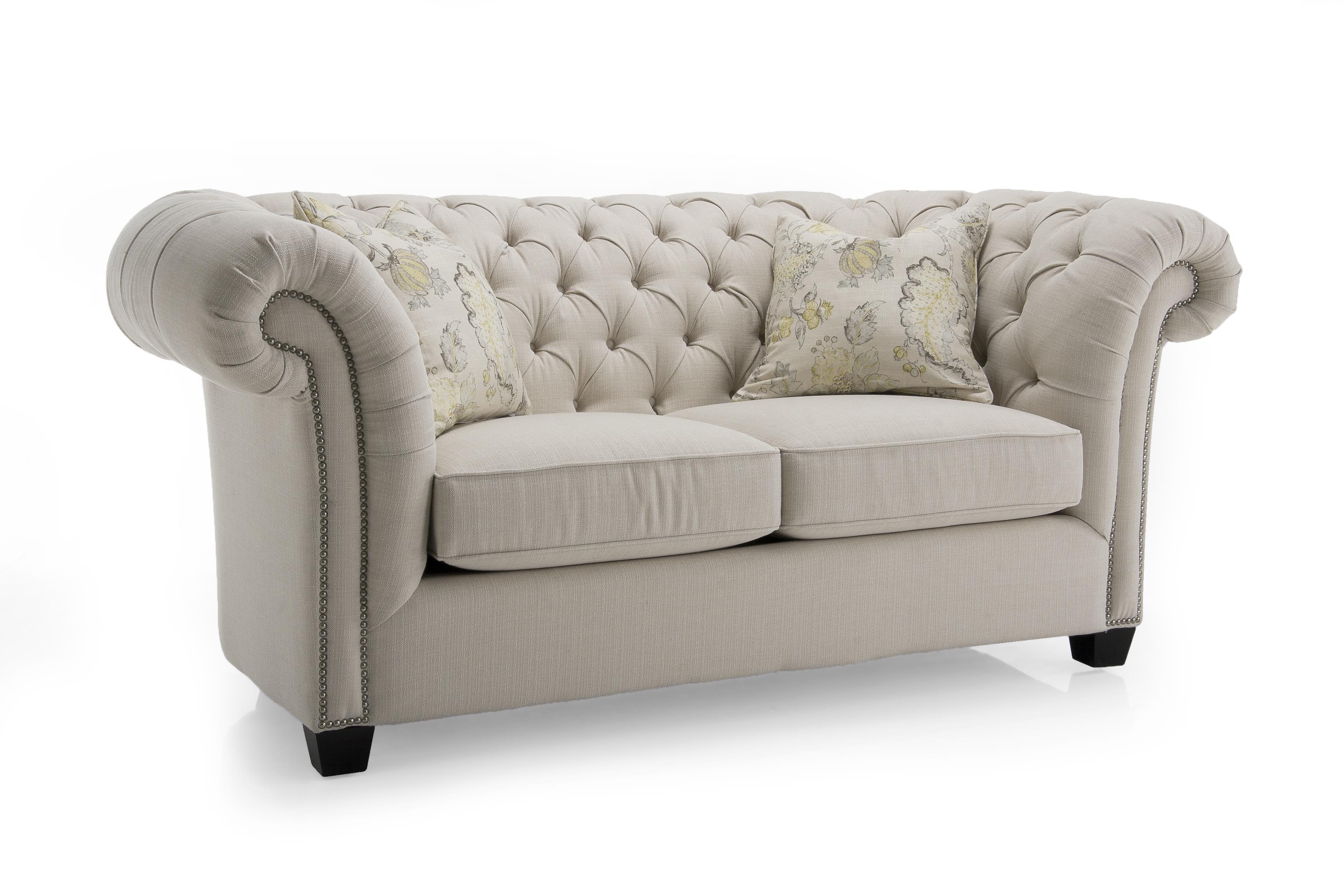 Decor-Rest Churchill Upholstered Loveseat - Item Number: 7000