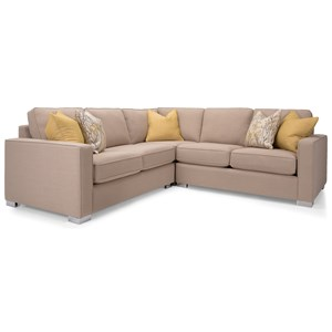 Decor-Rest 7743 3 Pc Sectional Sofa