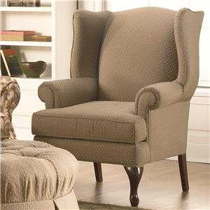 Taelor Designs 84BW Wing Back Chair