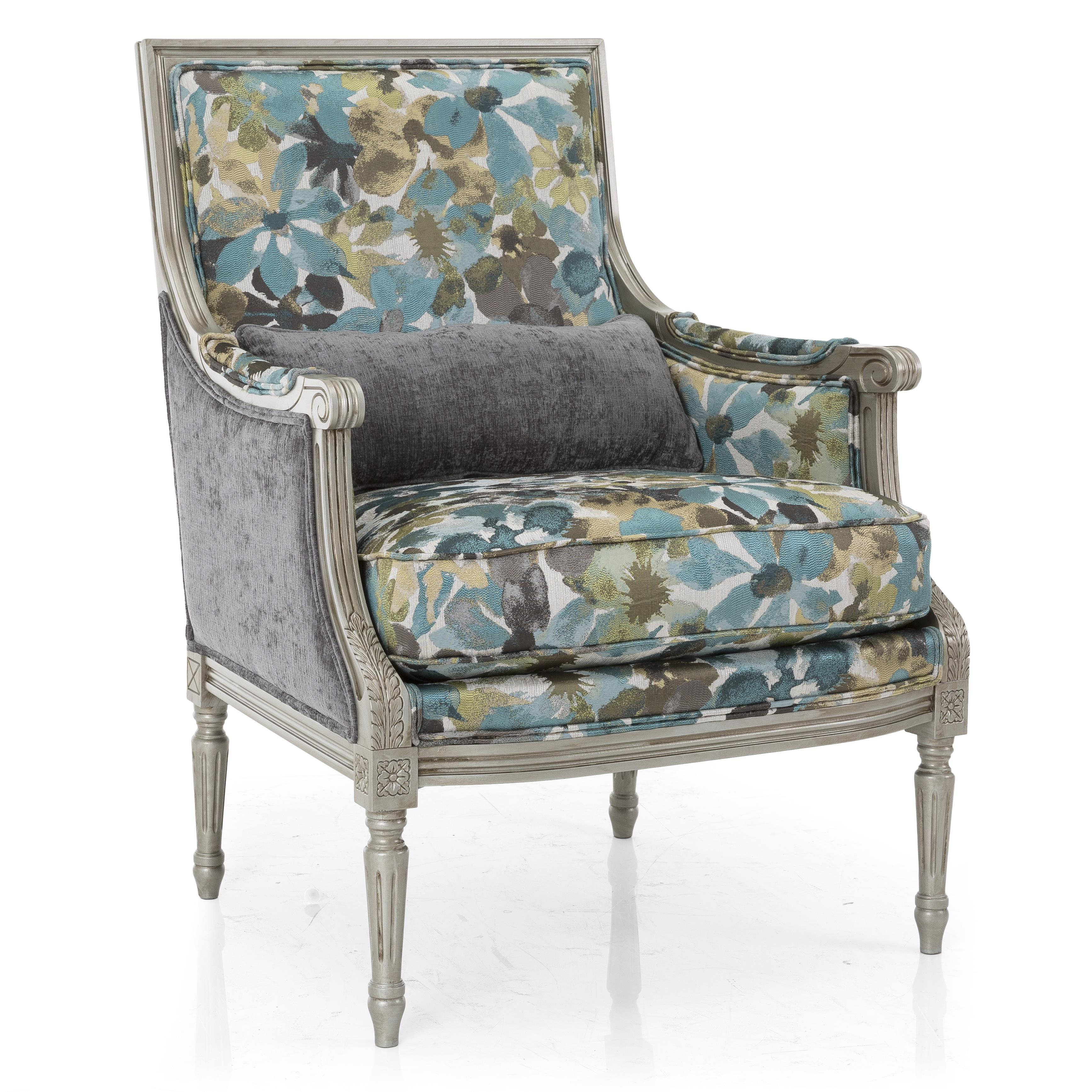 Taelor Designs Accent Chairs Firenze Chair With Exposed