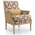 Decor-Rest Accent Chairs Firenze Chair - Item Number: 2926-FAN YEL