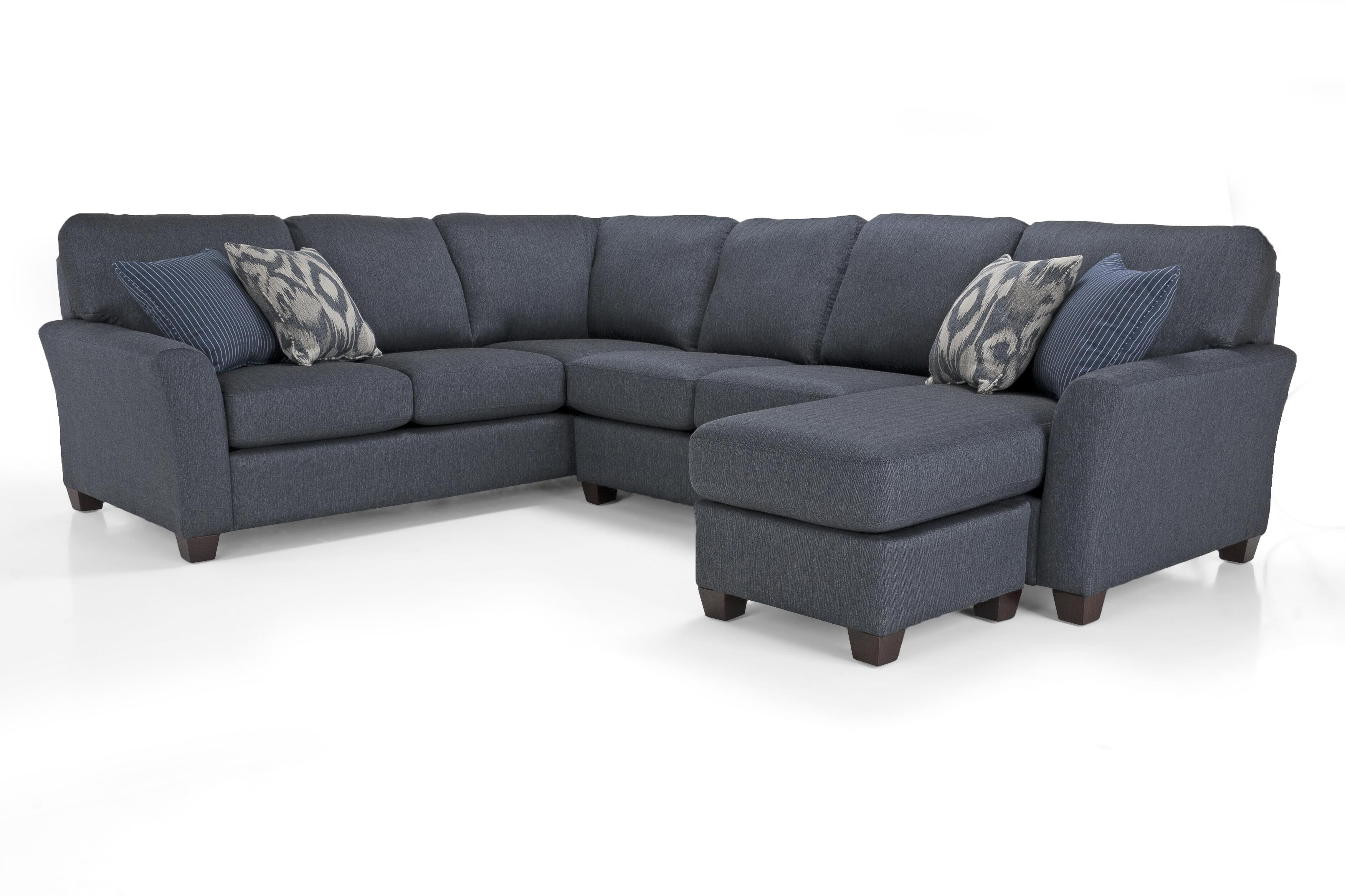 Alessandra Connections LHF Chaise Sectional by Decor-Rest at Johnny Janosik