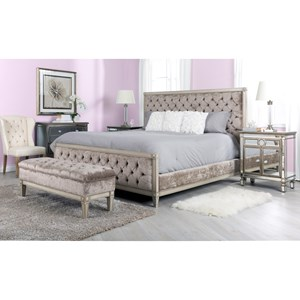 Decor-Rest Angelina Queen Bedroom Group