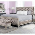 Decor-Rest Angelina Queen Upholstered Bed - Item Number: HBF236Q