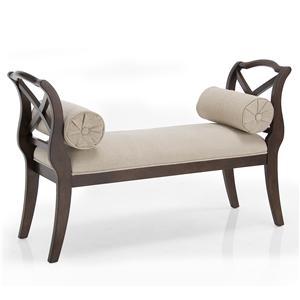 Decor-Rest Carmela Carmela Linen Bench