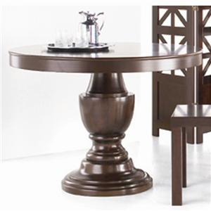 Universal Summer Hill Round Pedestal Table Stoney Creek