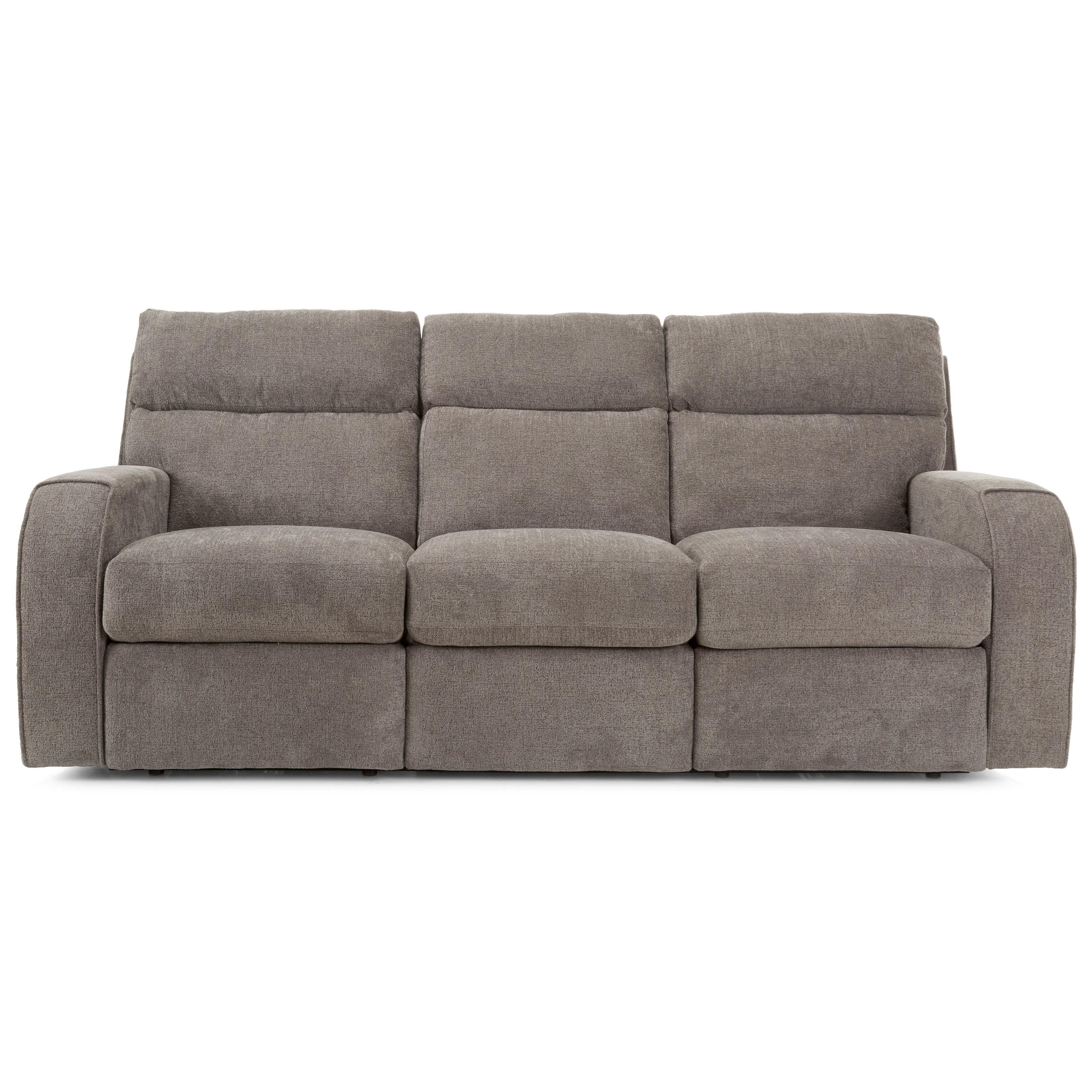 Power Tilt Reclining Sofa