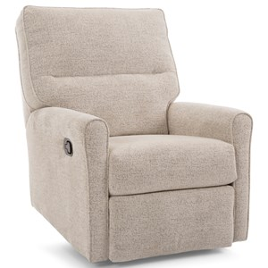 Glider Recliner with Channel Back