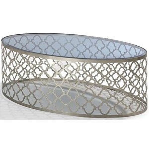 Decor-Rest Quartrefoil Coffee Table