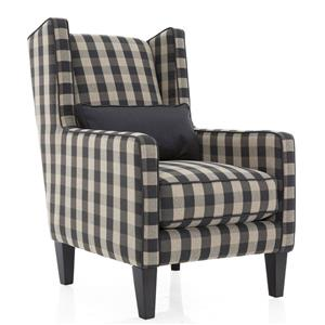 Decor-Rest Steven and Chris Maxwell Upholstered Wing Chair