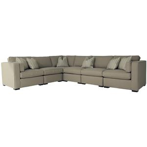 Decor-Rest Steven and Chris Bay Street Stationary Sectional