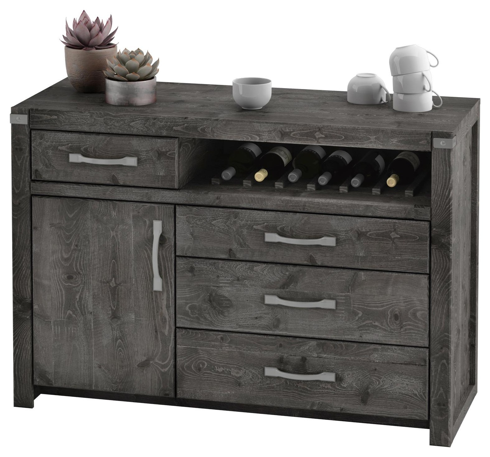 177 Server, Edgewood - Slate by Defehr at Stoney Creek Furniture
